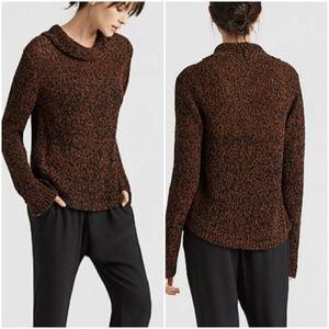 Eileen Fisher Brown Organic Cotton Sweater 0490